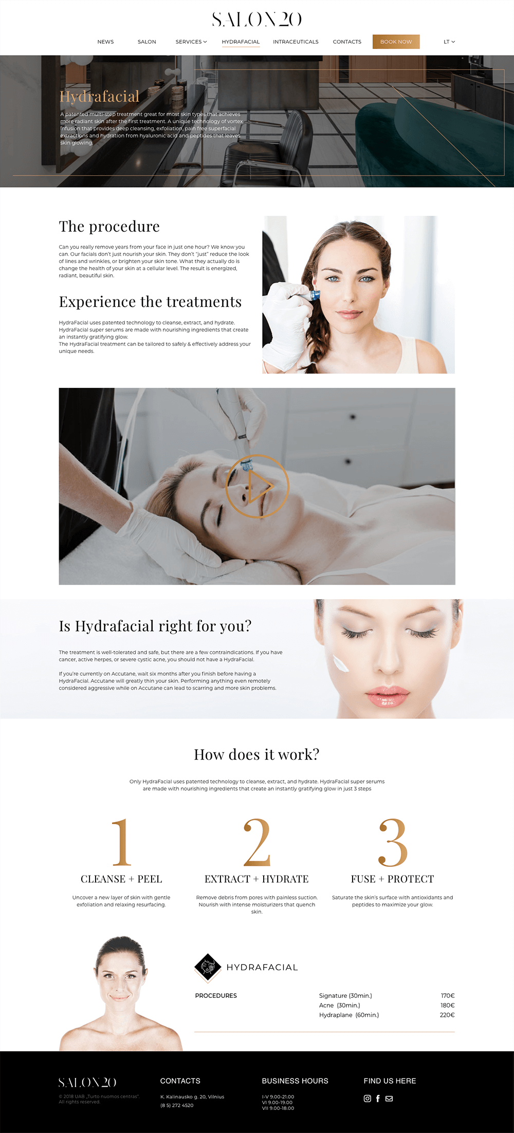 Salon20-Hydrafacial